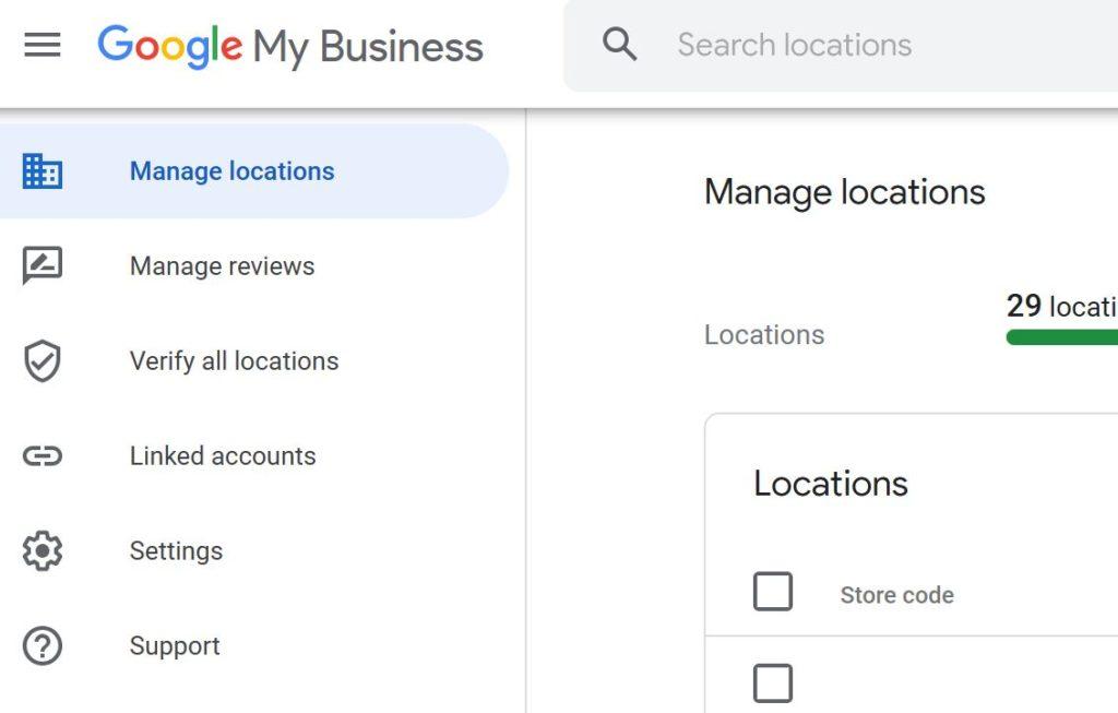Oppføring på Google med firma info